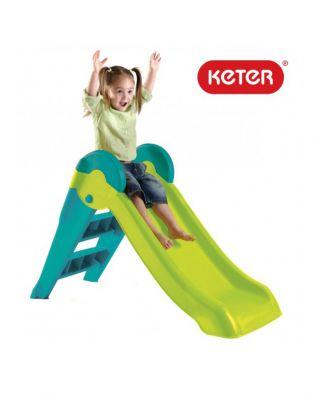 Keter Boogie Slide детска пързалка зелен/син