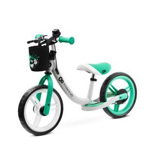 KinderKraft Детско колело за баланс SPACE 2021, Св.зелено