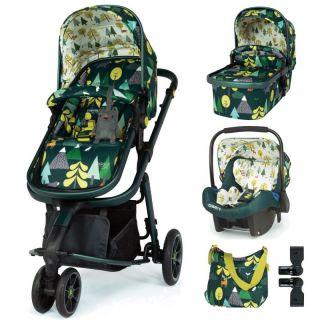 Cosatto Giggle 3 Бебешка количка с аксесоари 3в1, INTO THE WILD