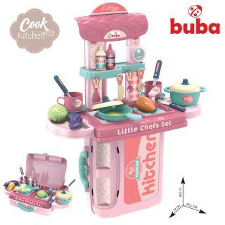 Комплект кухня Buba, Куфар 008-971, Розова
