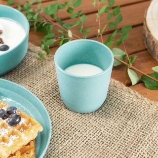 Комплект 2 детски чашки Reer, Синя/сива