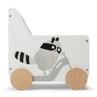 Количка за играчки KinderKraft Racoon KKHRACOSKR0000