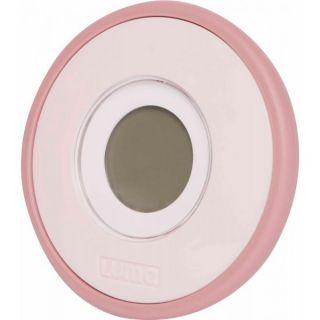 Luma Дигитален термометър за баня със светлинен индикатор Blossom Pink
