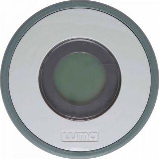 Luma Дигитален термометър за баня със светлинен индикатор Sage Green