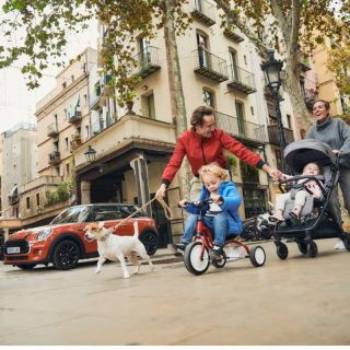 Детска количка MINI by Easywalker Buggy SNAP, Oxford Black