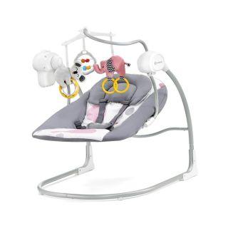 Бебешка Люлка KinderKraft Minky, 2 в 1, Розова