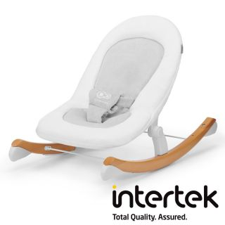 Бебешка люлка-шезлонг KinderKraft FINIO, бяла
