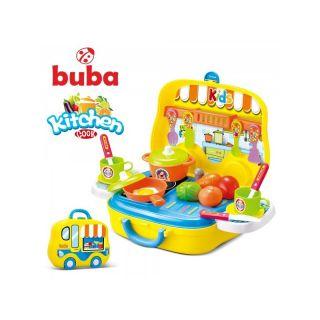 Малка детска кухня Buba Kitchen Cook, 008-919, Жълта