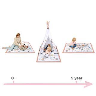 KinderKraft Образователна активна гимнастика TIPPY, 3 в 1