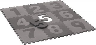 BabyDan Мек килим пъзел за игра с цифри