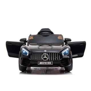 Лицензирана детска акумулаторна кола Mercedes GTR AMG, черен