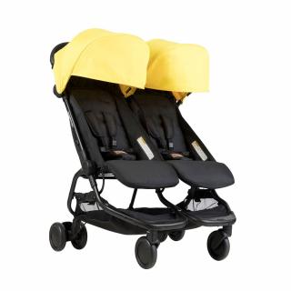 Mountain Buggy количка за близнаци Nano Duo Жълт