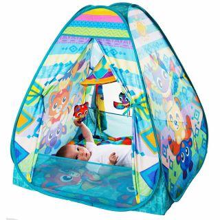 Музикална активна гимнастика с топки - Типи палатка, 0м+, Playgro
