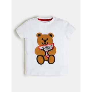 Guess детска тениска с мече за момче Guess Bear