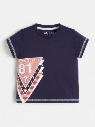 Детска синя тениска Guess за момче