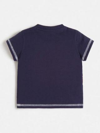 Снимка на гърба на Детска тениска за момче Guess