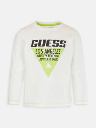 Детска блуза с дълъг ръкав за момче Guess
