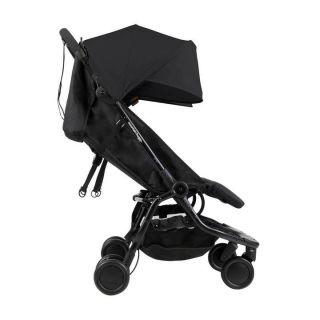 Mountain Buggy количка за близнаци Nano Duo Черен
