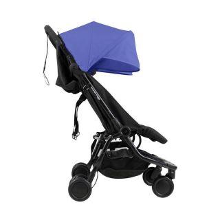 Mountain Buggy количка за близнаци Nano Duo Син
