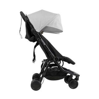 Mountain Buggy количка за близнаци Nano Duo Сив