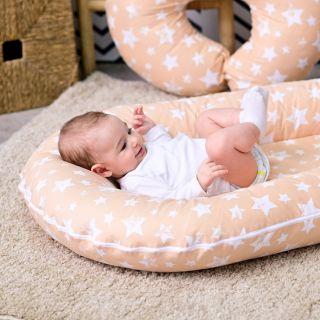 Lorelli Гнездо за новородено 3в1, Беж.звезди