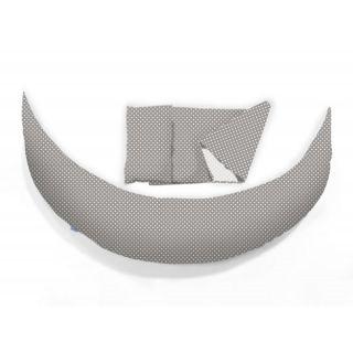 Nuvita DreamWizard 10в1 възглавница за бременност и кърмене сива