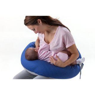 Nuvita DreamWizard 10в1 възглавница за бременност и кърмене цветчета