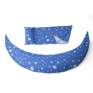 Nuvita DreamWizard 10в1 възглавница за бременност и кърмене тъмно синя