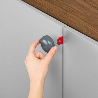 Обезопасителна закопчалка за двойни врати Reer 71081