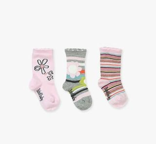 Boboli бебешки чорапки 3бр/оп Never Alone 19/21 12м