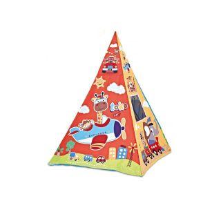 Chipolino Постелка за гимнастика и палатка за игра 2в1, Пътешествие