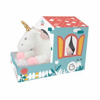 Бебешко одеяло с играчка Еднорог