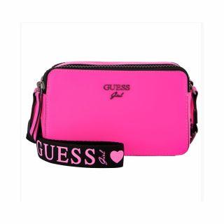 Guess Чанта за рамо Neon Fuchsia