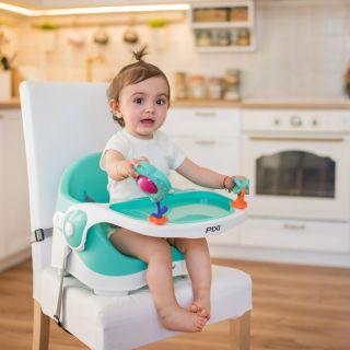 Детски преносим стол за хранене Pixi, Lorelli