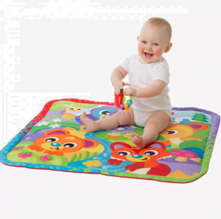 Playgro Активна гимнастика със светлини, звуци и проектор, 0м+