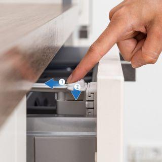 Предпазно заключване на чекмедже за прибори Reer, 2 бр.