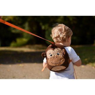 Детска раница LittleLife Маймуна с повод