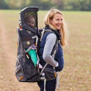 Раница за носене на дете Cross Country S4, Сива LittleLife