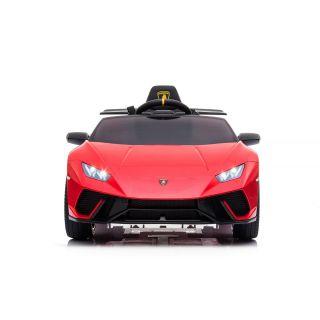 Лицензирана акумулаторна кола LAMBORGHINI HURACAN, червен