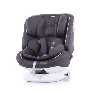 Chipolino детско столче за кола Ротикс 360 ISoFix, Група 0+,I,II,III Мъгла
