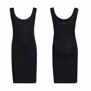 Guess изчистена рипсена рокля