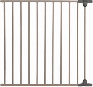 Safety 1st Удължител за модулна метална преграда за врата –  72 см, сива