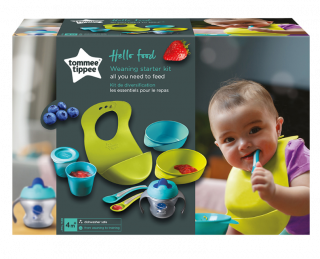 Tommee Tippee Стартов комплект за захранване Hello Food 4м+