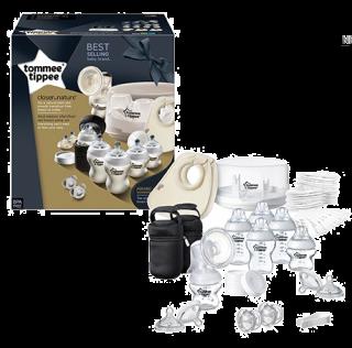 Tommee Tippee Комплект за кърмене със стерилизатор за микровълнова