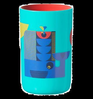 Tommee Tippee Неразливаща се преходна чаша 360° 250ml. 12м+ -син