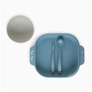 Tuc Tuc силиконов комплект прибори за хранене