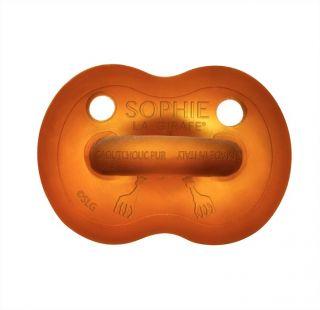 Софи жирафчето - залъгалка от 100% натурален каучук 0-6м/6-18м