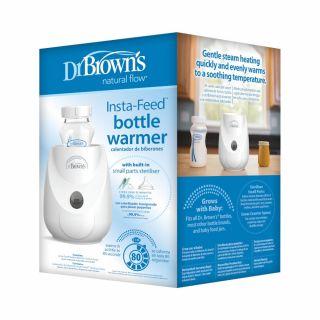 Стерилизатор и нагревател Dr. Brown's Insta-Feed за шишета
