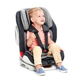 Детско столче за кола KinderKraft Oneto3, Сиво/Черно