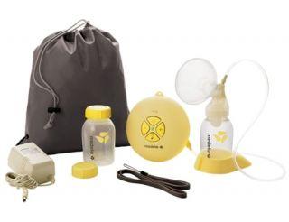 Помпа Swing Medela включва показаните на снимка продукти